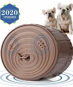 Geohee Bark Control Device, Mini Bark Control Device Indoor/Outdoor Anti Barking Ultrasonic Dog Bark Control Sonic Bark Deterrents Silencer Stop Barking, Dog Bark Control (Upgraded)