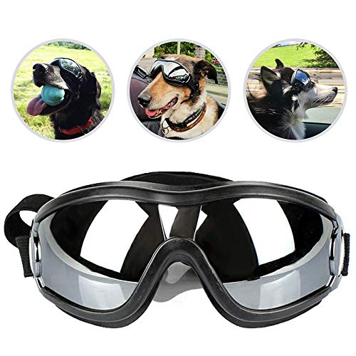 UNITRIP New Version Pet Dog UV Sunglasses Goggles Waterproof Windproof for Medium and Large Dogs