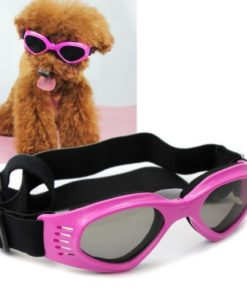 Namsan Dog Sunglasses – Dog Goggles UV Protection Sunglasses for Dog – Pink