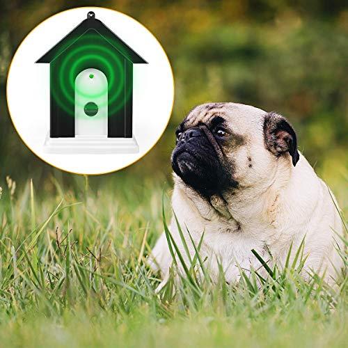 Vitorun Anti Barking Device, Upgrade Ultrasonic Anti Barking, Sonic Bark Deterrents, Humane Bark Control Device, Dog Bark Contrl Outdoor Birdhouse