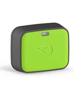Whistle Go Explore – Ultimate Health & Location Tracker for Pets – Waterproof GPS Pet Tracker, Built-in Night Light, 20 Day Battery, Pet Fitness Tracker fits on Collar – Green