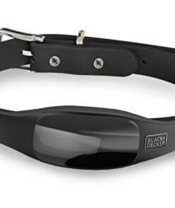 BLACK+DECKER Smart Dog Collar, GPS Tracker, 2-Way Audio, Water Resistant, Black Med/Large (Fits 15″-21″ neck)