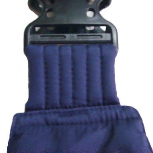 OrgMemory Pet Sling Carrier, Adjustable Sling Bag, Small Dog Cat Outdoor Shoulder Carrier Bag, Most Suitable: 3-10 lbs (Blue Plaid)