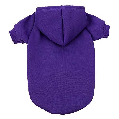 JPB Blank Dog Sweatshirt Pet Hoodie for Medium Dogs Doggie Clothes
