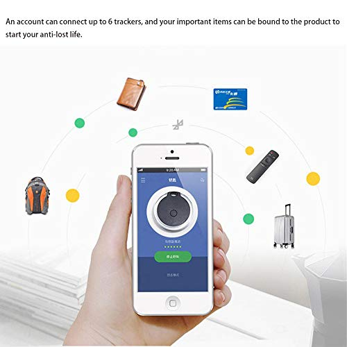 4 pcs GPS Tracker Locator, Bluetooth 4.0 Technology Extremely Low Power Consumption, for Kids Pet Dogs Cats Car Selfie Shutter Tracking Device