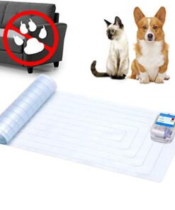 """Unicam Indoor Pet Scat Shock Mat, 60""""x12"""" Pet Training Mat for Dogs and Cats, Electronic Training Mat Keep Pets Off Furniture, Safe Dog Repellent Mat with 3 Training Modes, Sofa Couch Protector"""