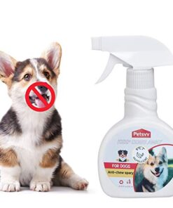 QUTOP Dog No Chew Spray – Anti Chew Spray Deterrent for Dogs, Pet Corrector Bitter Spray for Dogs to Stop Chewing|Non-Toxic – 8.45oz
