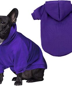 JPB Blank Dog Sweatshirt Pet Hoodie for Medium Dogs Doggie Clothes