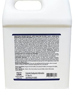 Nature's Mace Dog Repellent 1 Gal Concentrate/Treats 48,000 Sq. Ft. / Keep Dogs Out of Your Lawn and Garden/Train Your Dogs to Stay Out of Bushes/Safe to use Around Children & Plants
