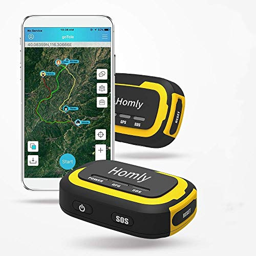 GPS Tracker, No Monthly Fee No Network Required Mini Portable Off-Grid Real Time GPS Tracking Device for Outdoor Hiking, Hunting, Kids Car, and Pets Tracker (2 Pack)
