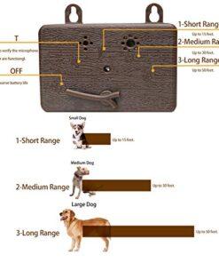 Anti Barking Control Device Ultrasonic Dog Barking Deterrent, Upgraded Mini Sonic Bark Deterrents Silencer Range Up to 50 ft, Effective Dog Trainer & Barking Control Dog No Bark Safe and Easy to Use